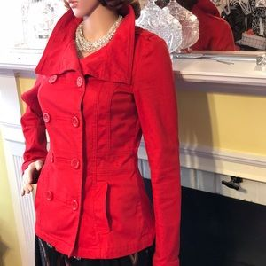 Candy Red Cool H&M Jacket
